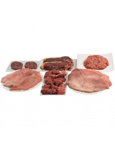 Pack ahorro Ternera y Carne Roja - Parejas y Familias