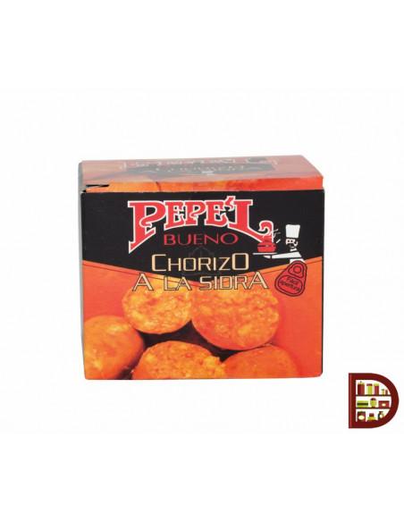 Chorizo a la sidra en conserva