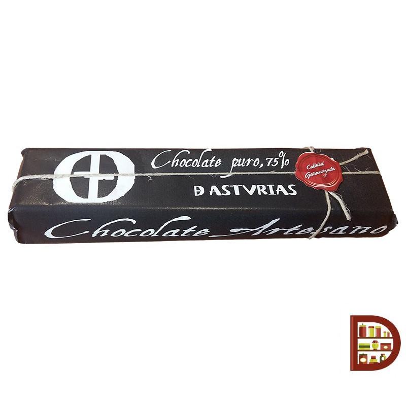 Chocolate puro de Asturias (500 gr)