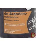 Etiqueta mermelada de arandanos