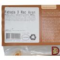 Etiqueta Fabada asturiana 3 raciones detalle